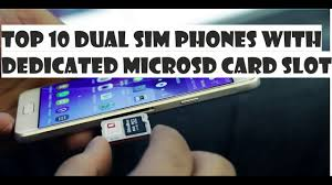 Top 10 Gadgets Of 2017 by Top 10 Dual Sim Smartphones With Separate Microsd Card Slot No