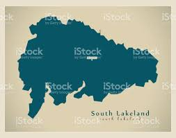 Lakeland Florida Map Modern Map South Lakeland District Uk Stock Vector Art 691541078