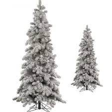 unlit artificial christmas trees artificial christmas tree 6 ft heavy flocked snowy spruce