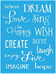 amazon paint by numbers black friday stencils u0026 templates shop amazon com