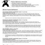 Handyman Resume Template Maintenance Resume Template Zombotron2 Info