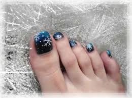 winter toe nail art designs u0026 ideas for girls 2013 2014