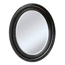 Aura Home Design Gallery Mirror by Glacier Bay 22 In X 18 In Oval Mirror 202400 The Home Depot