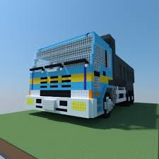 minecraft dump truck dump truck pixel art creation 9779