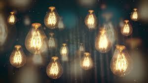 best backround moving vintage light bulbs background