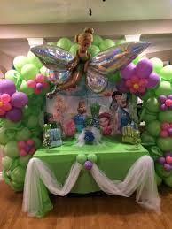 Balloon Decor Ideas Birthdays Party Decorations Tinkerbell Decorations Ideas Birthday Party