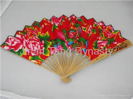 china gifts adornment gift of made china fan with cotton cloth tang
