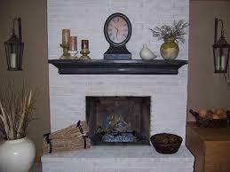 faux brick fireplace mantel wpyninfo