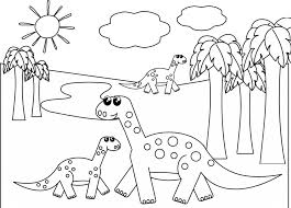 cute dinosaur free coloring pages art coloring pages