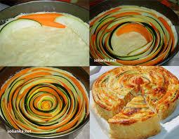 cuisiner courgettes une tarte aux courgettes et carottes