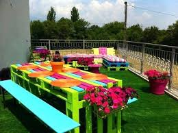 cheap outdoor table easy and fun outdoor furniture ideas cheap