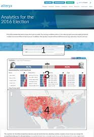 Presidential Election 2016 Predictions By State Html by How U0027d They Do That 2016 Presidential Election Ap Alteryx