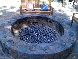 Firepit Grate Custom Grate Traditional Exterior San Francisco By