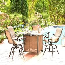 Bar Height Patio Dining Set Design Attractive Umbrella For Bar Height Patio Table Sears Patio