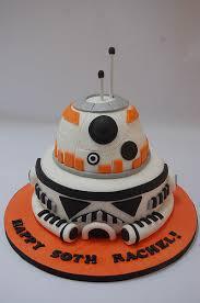 bb8 and stormtrooper cake u2013 beautiful birthday cakes