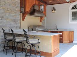 Outside Kitchens Ideas Outdoor Kitchen Ideas On A Budget Pictures Tips Ideas Hgtv Within