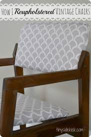 110 best refinish furniture images on pinterest furniture reupholstering vintage dining chairs
