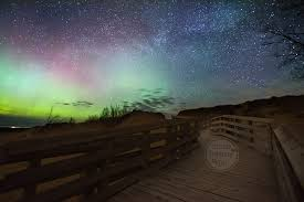sleep under the northern lights northern lights and quiet nights at the sleeping bear dunes snap