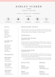 Template Word Resume Best 25 Resume Templates For Word Ideas On Pinterest Curriculum