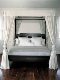 Hanging Canopy by Interior Sheet Black Glorious Wooden Grey Bed Queen Canopy
