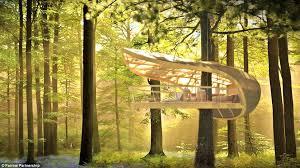 Eterra Samara Luxury tree house villas in Canadas Bruce Peninsula