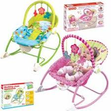 baby bouncer rocker reclining chair soothing music vibration toys
