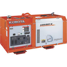 kubota lowboy ii diesel generator u2014 11 kw model g3112 00000