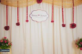 wedding backdrop malaysia reception ikram redza ridzuan photographer