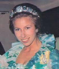 princess anne princess anne pine flower tiara 1974 tiaras and trianon