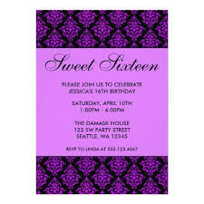 416 best purple black birthday party invitations images on