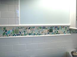 sea glass tile backsplash ideas sea glass tile ideas on glass tile