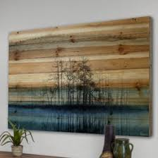 artist wall wood wall you ll wayfair
