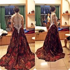 batik wedding dress by gladicious bridestory