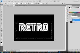 create cool and stylish retro style text designer punch