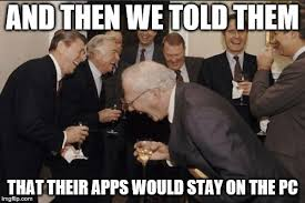 Meme Apps - laughing men in suits meme imgflip