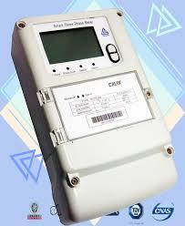 bureau of meter 4 programmed channel three phase kwh meter 8 digits amr electric meter