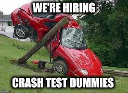 Car Wreck Meme - career opportunity s imgflip