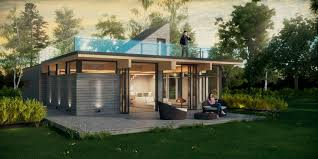 prefab house contemporary two story natur t industries