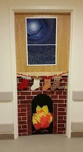 My christmas door decoration no door decorating contest though
