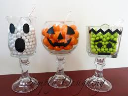 Halloween Candy Jars by Halloween Kid Crafts Design Dazzle