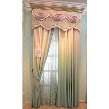 elegant energy saving nice valance curtains