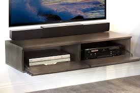 wall mount tv stand with shelf floating wall mount tv stand lotus driftwood gray woodwaves