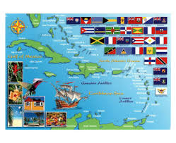 Map Of The Caribbean Maps Of Lesser Antilles Lesser Antilles Maps Collection Of