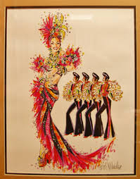 designer bob mackie debuts series of fashion and costume