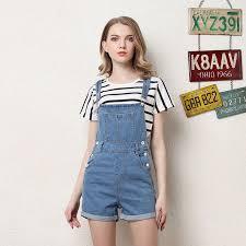 jean one jumpsuit 2018 overalls combinaison femme playsuits fashion