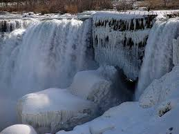 niagara falls frozen flurry walcek photo weather underground