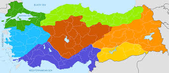 geographical regions of turkey wikipedia
