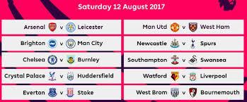 Jadwal Liga Inggris Jadwal Lengkap Liga Inggris 2017 2018 Romeltea Media