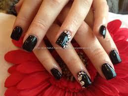 acrylic nails with gel polish eye candy nails u0026 training acrylic