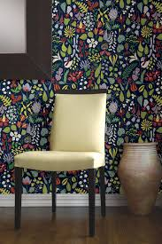Wallpaper Removable Art Nouveau Feather Damask Removable Wallpaper Wall Murals
